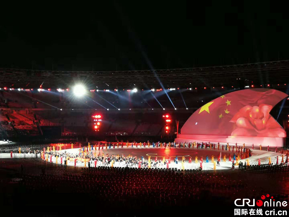 雅加达亚残运会开幕 中国运动员参赛人数创历史新高