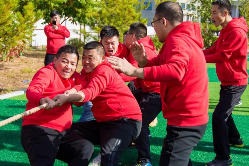 喜迎国庆:神华神木清洁能源有限公司举办趣味运动会