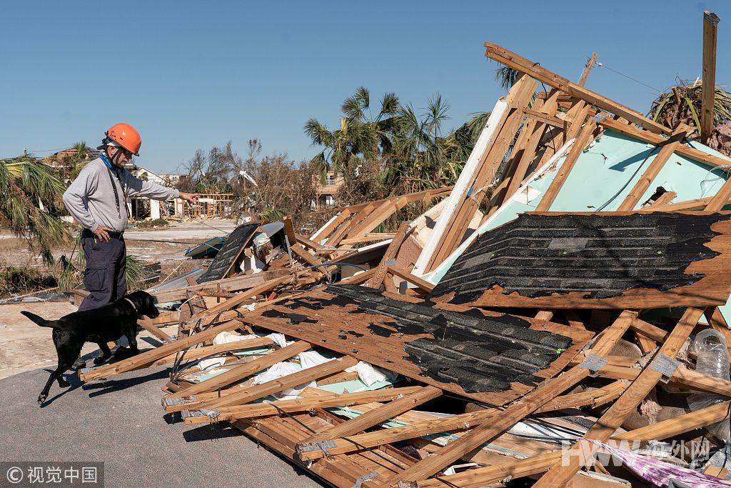 """飓风""""迈克尔""""重创美国东南沿海 已致至少18人丧生"""