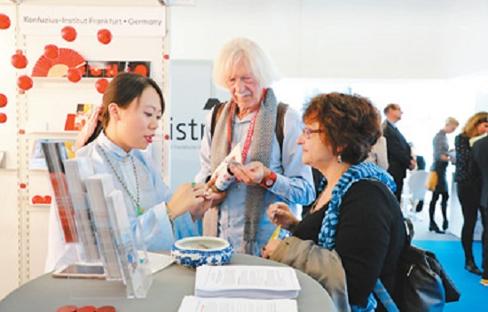 中国图书在法兰克福书展受青睐