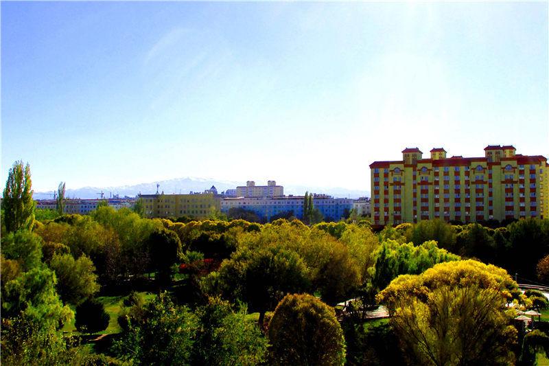 新疆裕民县彰显生态之美
