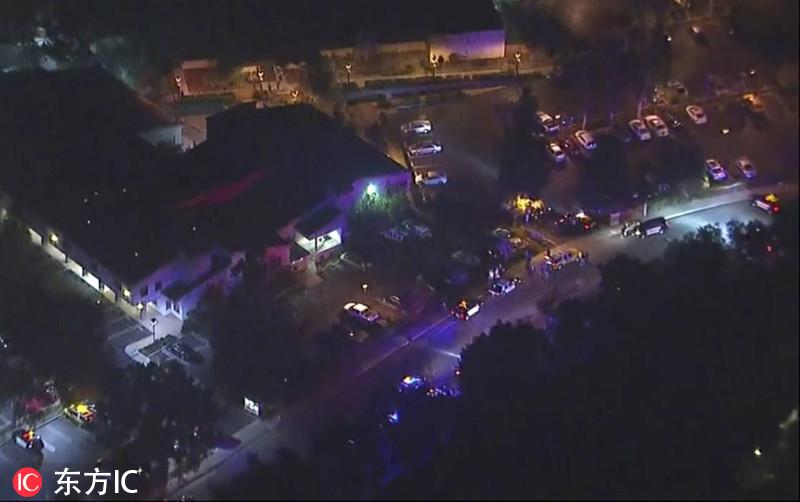 美国加利福尼亚州酒吧枪击事件已致13死