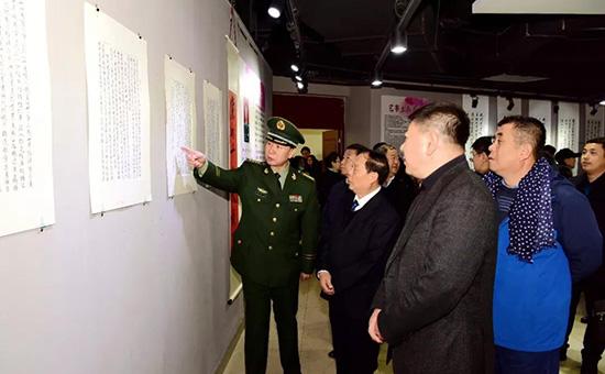 张成生作品展在黑龙江大学举办