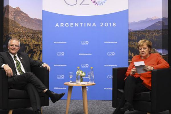 莫里森于8月底宣誓就职,是第四位参加g20峰会的澳大利亚总理.