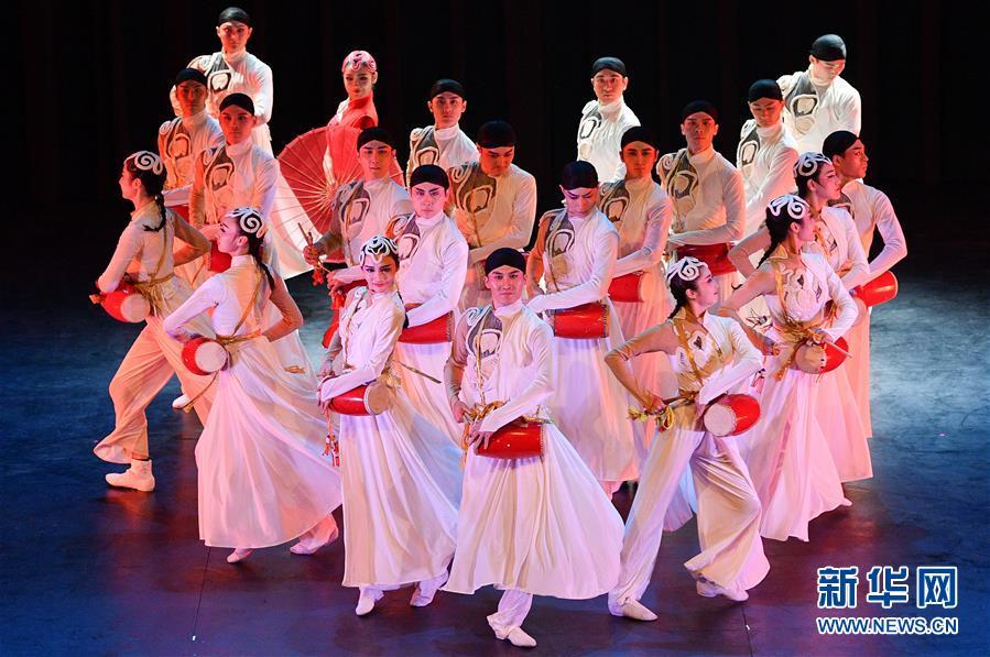 中国东方歌舞团大型舞蹈《国色》亮相智利