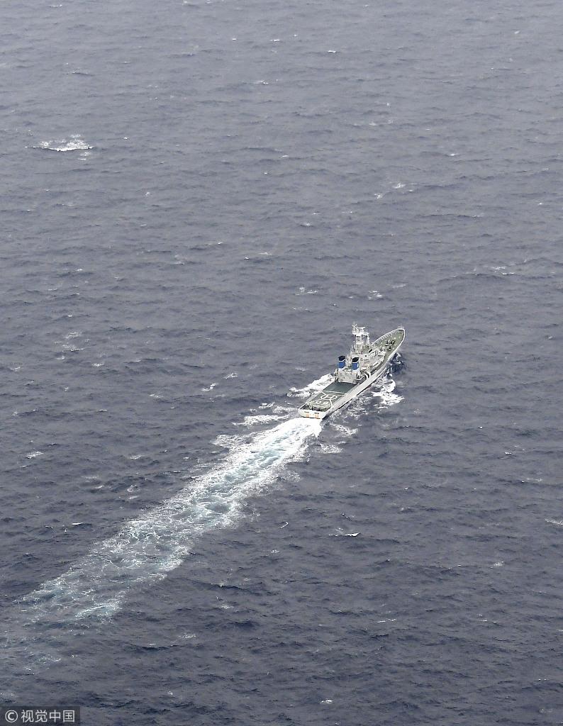 驻日美军战机与加油机相撞坠海6人下落不明 搜救展开