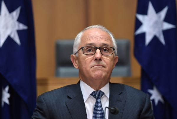 4 资料图:澳大利亚总理特恩布尔(新华社)