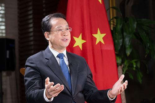 中国常驻联合国日内瓦办事处代表马朝旭离任