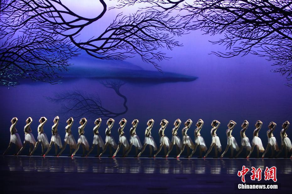 中国舞剧《朱鹮》登台纽约林肯中心 展中华风韵