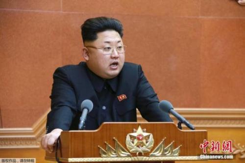 图四资料图:朝鲜最高领导人金正恩。.jpg
