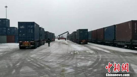 吉林首条中欧班列领跑东线第二条通欧班列即将开通