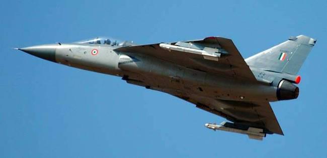 资料图:印度国产LCA战机。