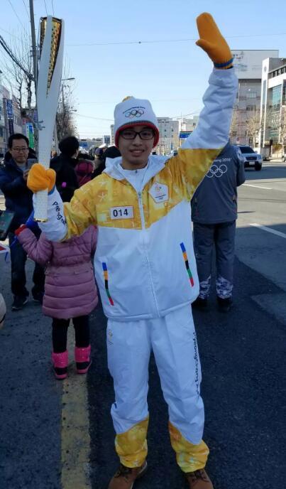平昌冬奥会火炬手中有一位中国留守儿童