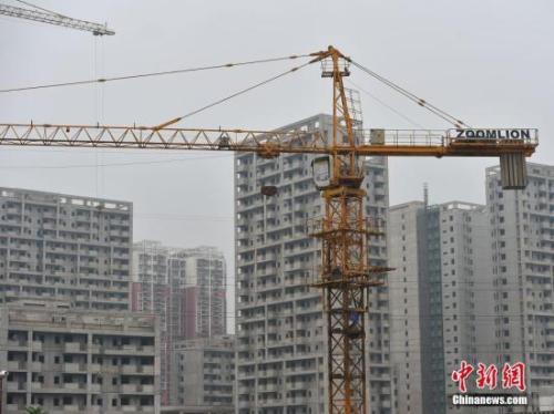 图为北京郭公庄一期正在建设中的公租房项目。<a target=&#39;_blank&#39; href=&#39;http://www.chinanews.com/&#39; >中新网</a>记者 金硕 摄