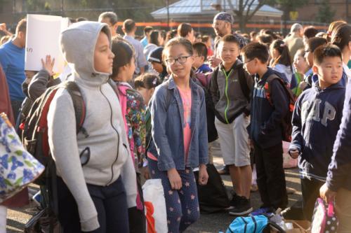 纽约市公校少数族裔学生占大都,但少数族裔教师数目却不可比例。(美国《天下日报》档案照)