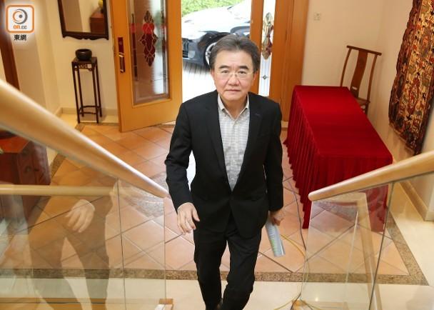 錢大康曾於2010至2015年出任港大首席副校長一職。(陳嘉順攝).jpg