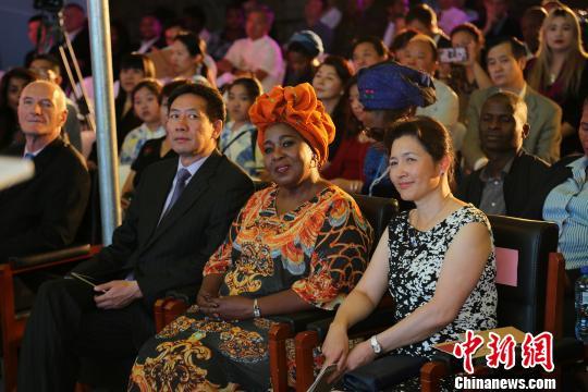 """中国茶文明走进非洲南非举办""""海丝茶道""""文艺展演"""