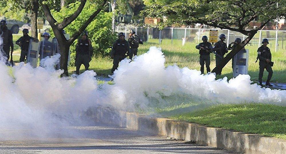委内瑞拉首都一地铁发生催泪弹爆炸 无伤亡消息