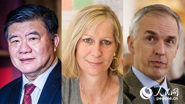 陈竺与两位法国科学家分享瑞典2018年度舍贝里奖