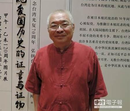 """前民进党""""立委""""朱高正。(图片来源:台湾《中时电子报》)"""