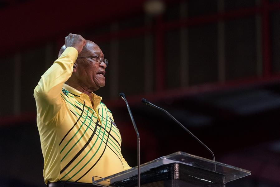 南非议会宣布收到祖马辞职信 辞职立即生效