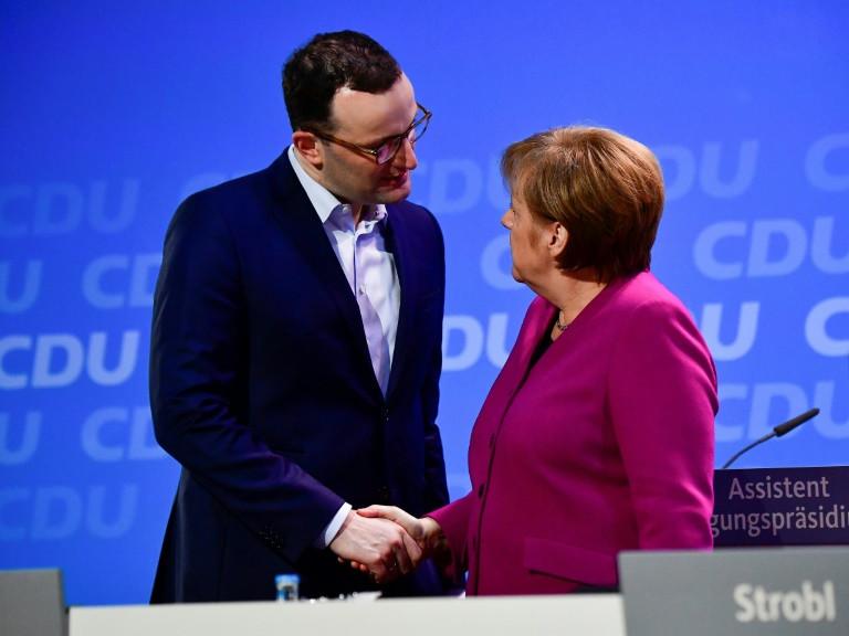 默克尔获党内支持 德国新一届联合政府有望得组建
