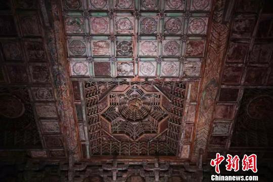 永乐宫整个壁画共有1000平方米,分别画在无极殿、三清殿、纯阳殿和重阳殿里。山西省旅发委供图