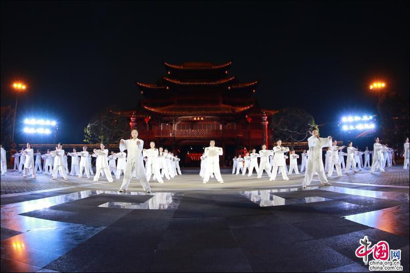 """贵州:""""四路花灯闹元宵""""福泉分会场惊艳全省"""