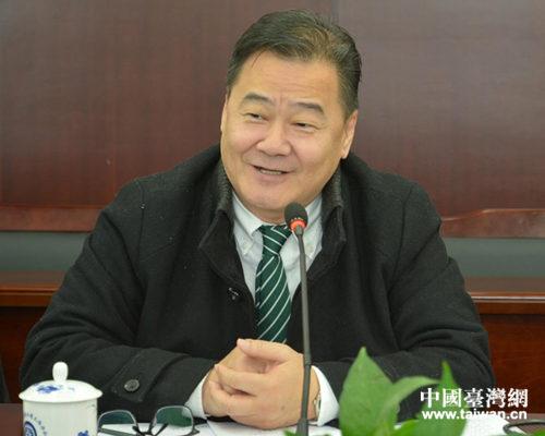 九江市台协副会长张绍强发言