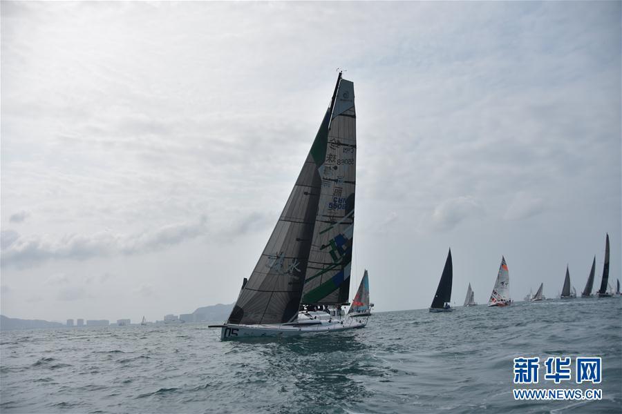 (体育)(3)帆船——2018环海南岛国际大帆船赛开幕