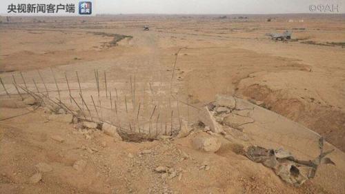 叙利亚霍姆斯T4空军基地(图片来源:当地媒体所引用的俄罗斯社交账号)