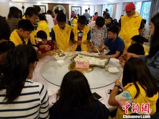 泰国华裔青少年江西鹰潭学习中国传统文化课程