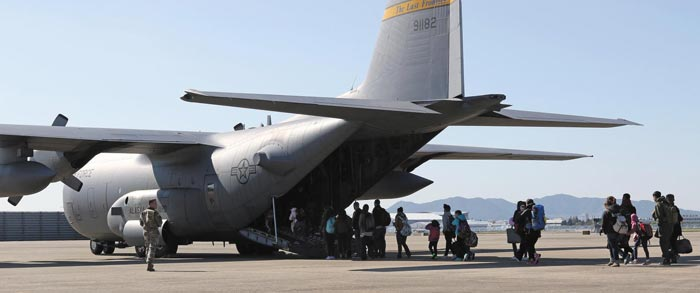 2016年美国在韩非战斗人员疏散演练场景