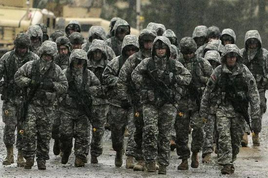 ▲美军士兵