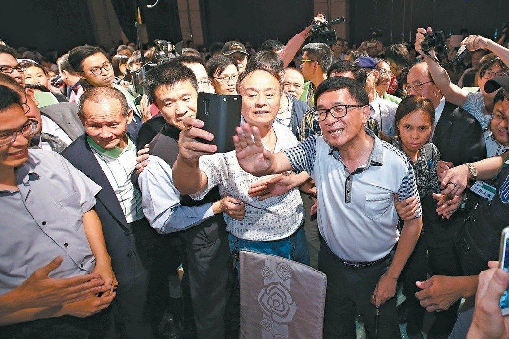 陈水扁申请参加募款餐会 台中监狱:审核中