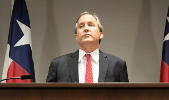 得克萨斯州总检察长肯·帕克斯顿。(图片来源:华盛顿邮报)