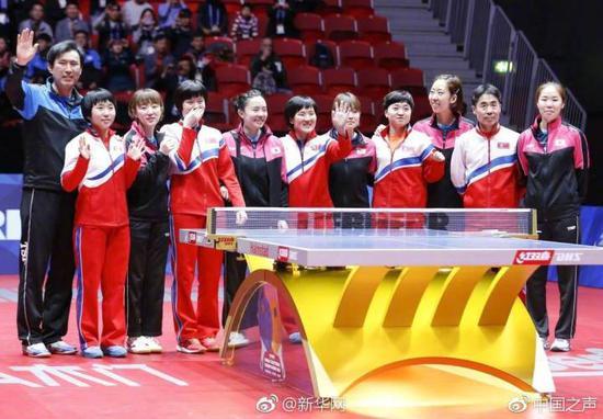 幸运飞艇的简单玩法:世乒赛朝韩组联队携手晋级_国际乒联这个细节透露玄机