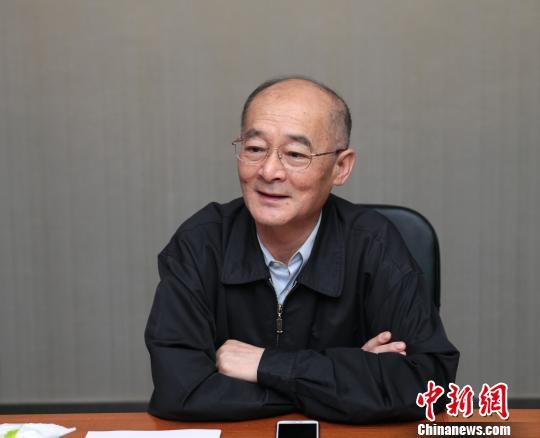 中国华文教育基金会理事长赵阳讲话。 张远 摄
