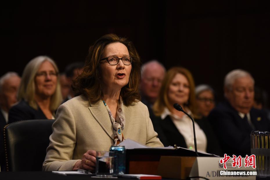 中情局首位女性局长提名人哈斯佩尔出席国会听证会