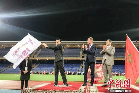 """世界中学生运动会进入""""晋江时间"""""""