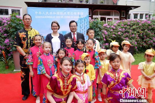 中国驻汉堡总领馆举办开放日活动