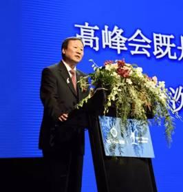 新华保险董事长兼CEO万峰发表主旨演讲.jpg