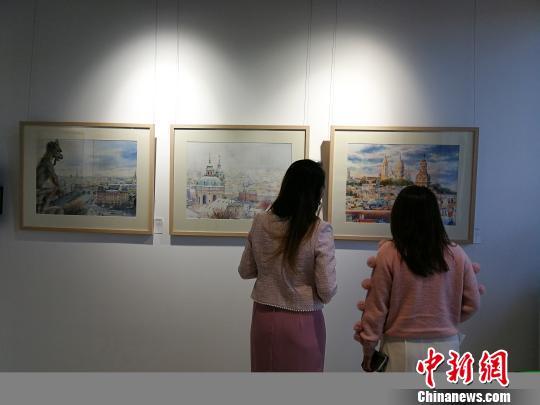 旅澳画家晁铁军水彩画作在悉尼展出