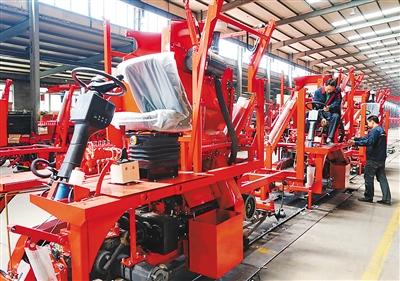 打造高端农业机械制造产业集群