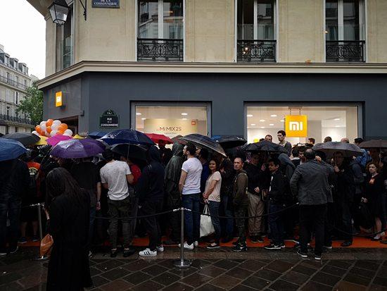 小米登陆法国进一步开拓欧洲市场