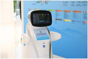 聊天走秀精通3国语言 青岛峰会的机器人这么
