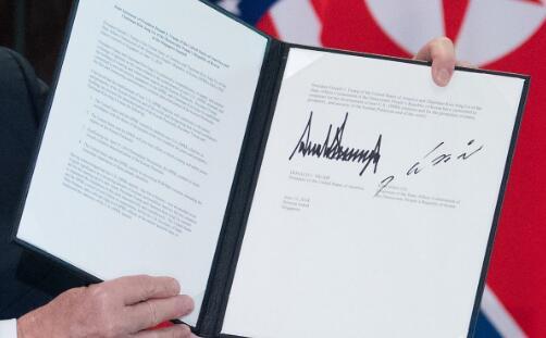 美朝联合声明:美国提供安全保证 朝鲜承诺无核化