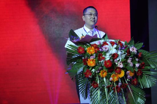 图三:北京世纪福鑫生物科技有限公司董事长赵鑫在活动上讲话.jpg