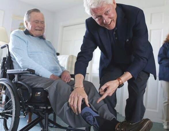 老布什与克林顿