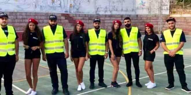 为吸引西方游客 这个中东国家女警穿热裤指挥交通